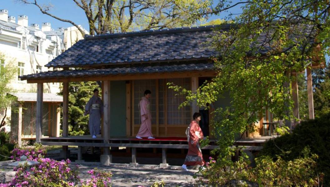 Японский сад в Петербурге