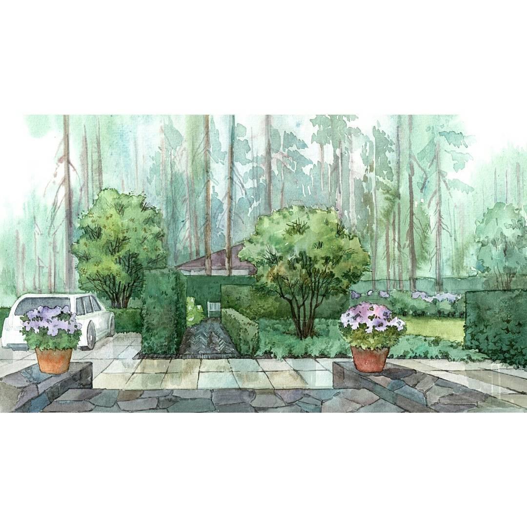 Ландшафтное проектирование участка