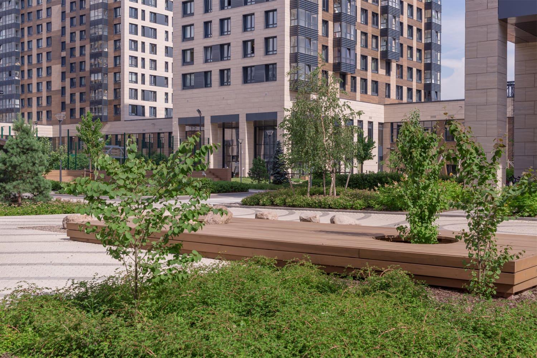 Площадка для отдыха в ЖК